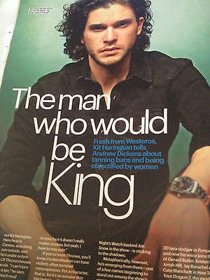 Game of Thrones KIT HARINGTON photo interview 2014 Charlie Bewley Rory McCann