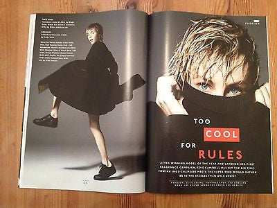 EDIE CAMPBELL UK PHOTO INTERVIEW STYLE MAGAZINE NOV 2014 BRYAN FERRY