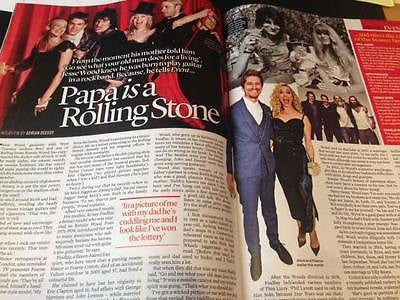 JESSE WOOD on RONNIE - GERARD BUTLER - KIM CATTRALL UK EVENT magazine June 2016