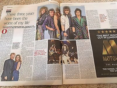 (UK) TIMES REVIEW OCTOBER 2016 JON BON JOVI PHOTO INTERVIEW