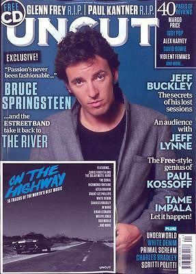 Bruce Springsteen Jeff Buckley April 2016 Photo Cover News Uk UNCUT Magazine