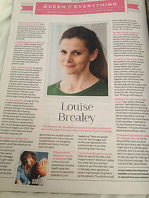 NEW Stylist Magazine July 2014,Louise Brealey Sherlock Benedict Cumberbatch