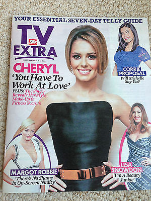 Girls Aloud CHERYL FERNANDEZ-VERSINI PHOTO COVER INTERVIEW EXTRA MAGAZINE 2015