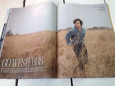 Game of Thrones TOBY SEBASTIAN PHOTO INTERVIEW MARCH 2015 NOEL GALLAGHER