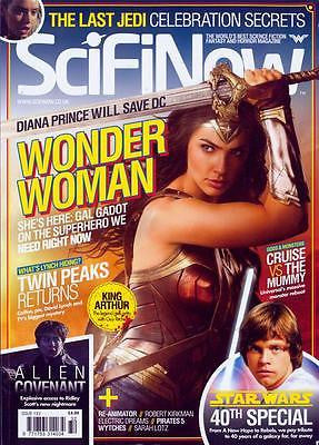 Sci Fi Now Magazine #132 Gal Gadot Wonder Woman Star Wars The Last Jedi