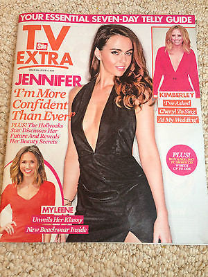 TV EXTRA MAGAZINE JULY 2015 JENNIFER METCALFE KIMBERLEY WALSH MYLEENE KLASS