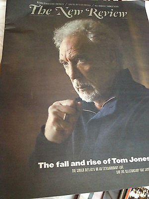 New Review Magazine - 13 May 2012 - Tom Jones The Voice Promo Cover interview