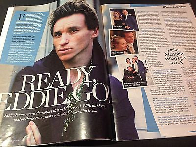 The Theory of Everything EDDIE REDMAYNE PHOTO INTERVIEW 2015 JAMIE DORNAN