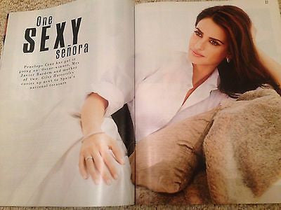 PENELOPE CRUZ Photo Interview UK STYLE MAGAZINE March 2016 NEW SIMON LE BON