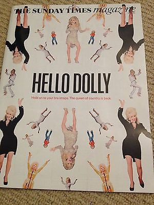 DOLLY PARTON Photo Cover interview SUNDAY TIMES MAGAZINE MAY 2014 BUZZ GOODBODY