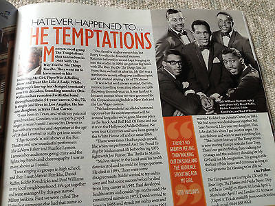 NEW Saturday Magazine MARTIN CLUNES SHAUN EVANS JAMIE DORNAN THE TEMPTATIONS