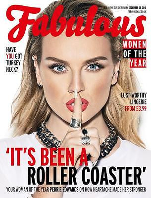 Fabulous Magazine December 2015 PERRIE EDWARDS Little Mix Cover Taylor Swift