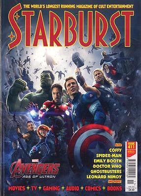 STARBURST APRIL 2015 AVENGERS: AGE OF ULTRON SPECIAL JEREMY RENNER CHRIS EVANS