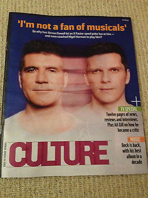 Culture Magazine - February 23 2014 Simon Cowell Nigel Harman Beck Stacy Martin