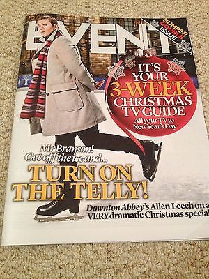 Downton Abbey ALLEN LEECH PHOTO INTERVIEW MAGAZINE DEC 2014 BENEDICT CUMBERBATCH