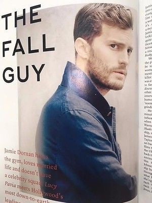 (UK) MARIE CLAIRE MAGAZINE NOVEMBER 2016 50 Shades JAMIE DORNAN PHOTO INTERVIEW