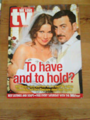 New WE LOVE TV Magazine Nov2013 ALISON KING CHRIS GASCOYNE Ant & Dec John Michie