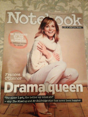 FRANCES O'CONNOR PHOTO INTERVIEW MAGAZINE JAN 2015 MACKENZIE CROOK KAREN GILLAN