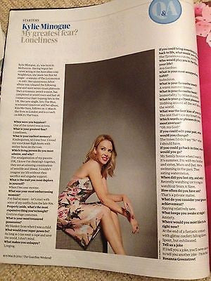PHARRELL WILLIAMS interview KYLIE MINOGUE UK 1 DAY ISSUE 2014