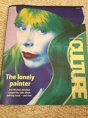 JONI MITCHELL PHOTO COVER interview UK CULTURE Magazine NOV 2014 NINA STEMME