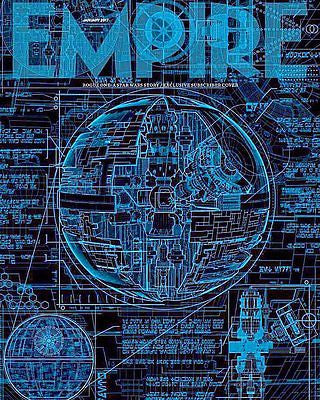 EMPIRE MAGAZINE JANUARY 2017 STAR WARS - ROGUE ONE - RARE UK COLLECTOR'S COVER