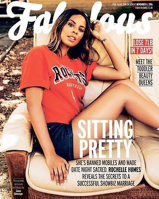 The Saturdays Rochelle Humes Selena Gomez Photo Cover UK Fabulous Magazine 2016