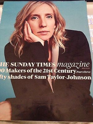 Times Magazine 2014 Sam Taylor Johnson Aaron Fifty Shades of Grey Adam Ant