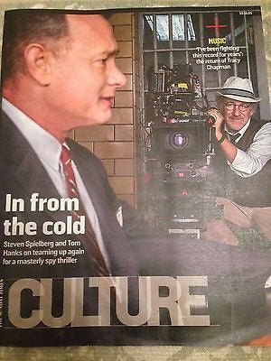 (UK) CULTURE MAGAZINE 2015 STEVEN SPIELBERG TOM HANKS TRACY CHAPMAN WANAMAKER