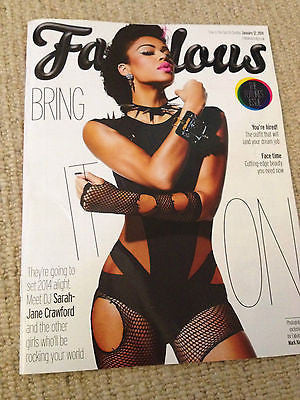 Fabulous Magazine January 2014 - Sarah-Jane Crawford Neon Jungle Rakhee Thakrar