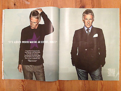 PAUL WELLER PHOTO INTERVIEW MAGAZINE SEPT 2014 Frida Giannini Lena Dunham