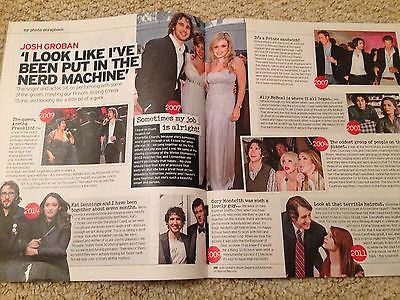 JOSH GROBAN UK PHOTO INTERVIEW UK MAGAZINE APRIL 2015 - AL PACINO