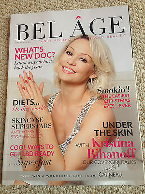 Bel Age Magazine Vol 1 Issue 1 Kristina Rihanoff Photo Cover Interview