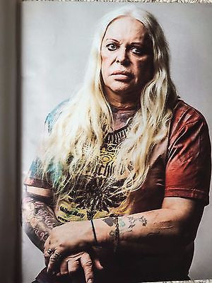 PSYCHIC Genesis Breyer P-Orridge Photo Interview UK Observer Magazine July 2016