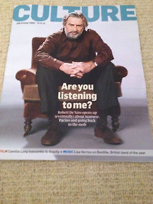 NEW CULTURE Magazine ROBERT DE NIRO BASTILLE CARCASS BILL STEER DAVID SUCHET
