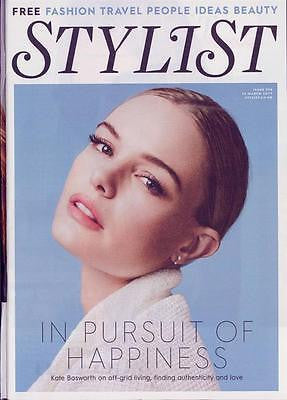 Cara Delevingne KATE BOSWORTH PHOTO INTERVIEW STYLIST MAGAZINE MARCH 2017
