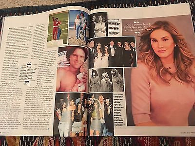 UK You Magazine April 2017 Caitlyn Jenner UK Cover Photo interview Sophie Rundle