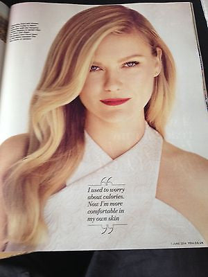 L'Oreal KIRSTEN DUNST Photo Cover interview YOU MAGAZINE MAY 2014 BLAIR DUNLOP