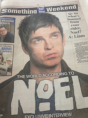 NOEL GALLAGHER interview CARL BARAT UK 1 DAY ISSUE 2015 BLUR DAMON ALBARN
