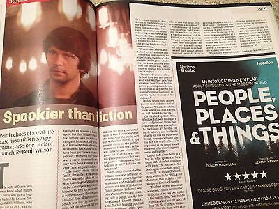 Steve Jobs KATE WINSLET PHOTO INTERVIEW CULTURE MAGAZINE NOV 2015 BEN WHISHAW