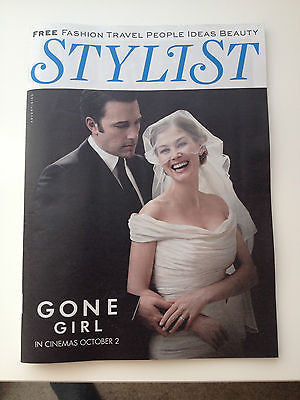 UK STYLIST MAGAZINE 2014 ROSAMUND PIKE ANNA FARIS EMILY RATAJKOWSKI GONE GIRL