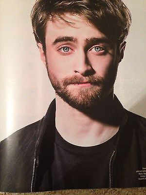 (UK) TIMES MAGAZINE NOVEMBER 2015 DANIEL RADCLIFFE PHOTO INTERVIEW HARRY POTTER
