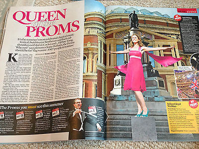 EVENT MAGAZINE JULY 2015 DIONNE WARWICK KATIE DERHAM AUDREY HEPBURN ADAM FAITH