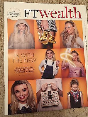 Georgia Toffolo UK PHOTO COVER INTERVIEW FT Wealth Magazine MAY 2017
