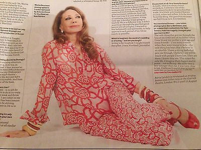 OBSERVER NEW REVIEW JULY 2016 MARISA BERENSON Pet Shop Boys William Eggleston