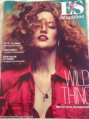 UK ES MAGAZINE - JESS GLYNNE - GEORGIA MAY JAGGER - MARK GATISS - MAY 2015