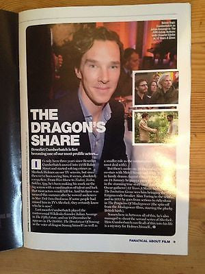 *** BENEDICT CUMBERBATCH uk mag 2013 Colin Firth Hunger Games Jennifer Lawrence