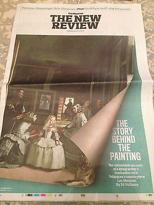 OBSERVER NEW REVIEW JULY 2015 LAS MENINAS VELAZQUEZ MICHAEL BALL MICHAEL HEAD