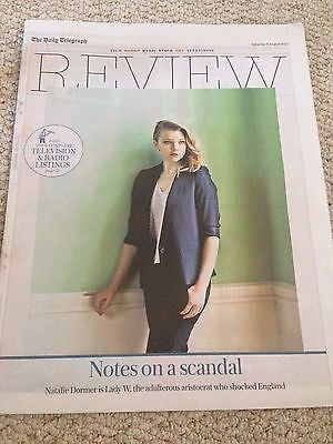 (UK) TELEGRAPH REVIEW AUGUST 2015 NATALIE DORMER LADY W NORMAN PARKINSON
