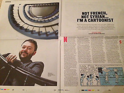 Observer New Review 2016 Riad Sattouf (Charlie Hebdo) Wolf Alice Kit Harington