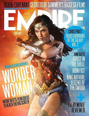 Empire Magazine April 2017 Wonder Woman Gal Gadot UK Exclusive